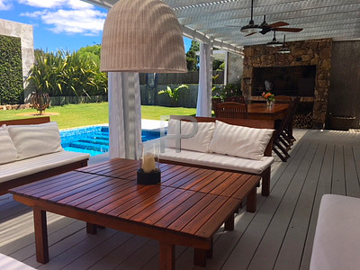 House for sale Punta del Este - deck and pool
